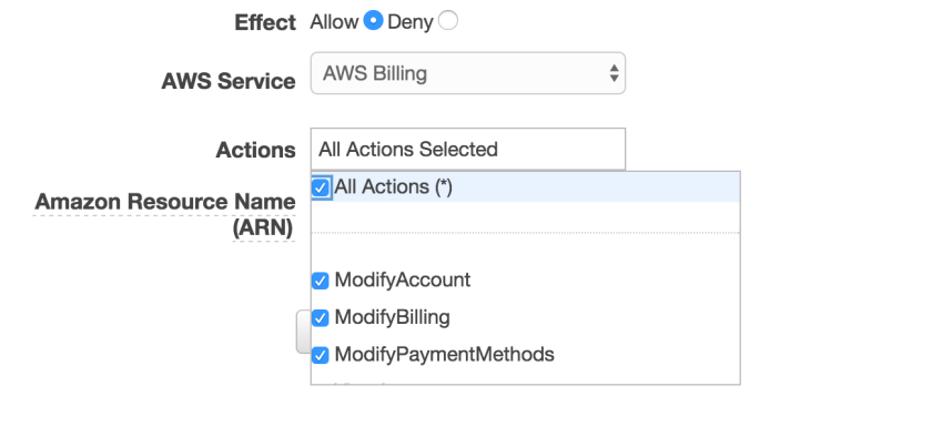Full-Control-AWS-Billing-Policy